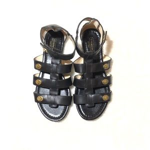 COACH Oleta Gladiator Sandals Size 7